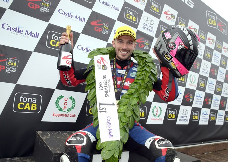 Castle Mall Shopping Centre Sponsors Ulster Grand Prix