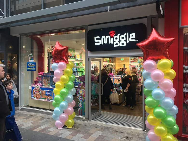 Smiggle arrive in Belfast